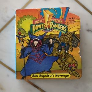 Vintage Power Rangers board book